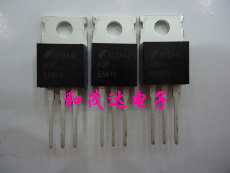 1 шт., новые оригинальные кнопки FQP55N10-220 100V 55A в наличии на складе