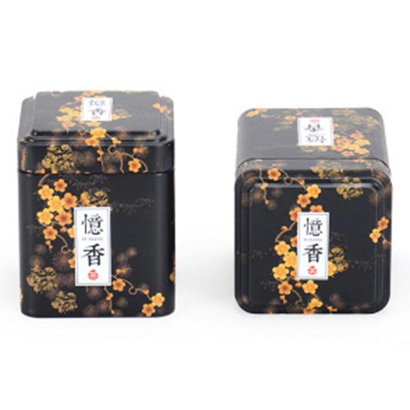 שין Jia Yi אריזה זול צנצנת מיכל עבור ג 'ל מלבן ריק אלומיניום פח עבור מזון תה עוגיות שוקולד יכול עם צבעוני
