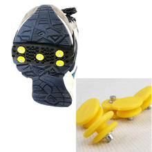 Spike Outdoor-Accessories Shoe-Covers Cleats Gripper Crampons Ice-Snow Climbing Anti-Slip