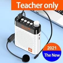 NEW Bluetooth  Amplifier Booster Megaphone Speaker K6 FM Radio Loudspeaker Microphone Voice  For Teaching Tour Guide Sales
