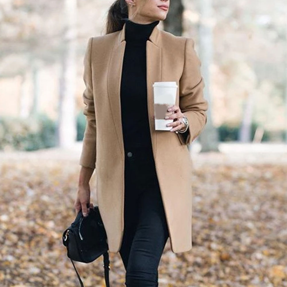 Slim Fit Trench Coat