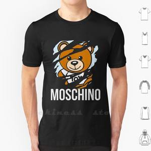Bear T-Shirt Luggage Teenage Cotton Fashion 6xl No Fragrances-Aeffe Outfit Shoes Ootd-Accessories