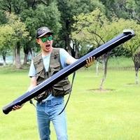 Sougayilang 방수 낚싯대 가방 캐리어 160cm 접이식 낚싯대 가방 케이스 낚시 장비 주최자 잉어 낚시 가방 태클