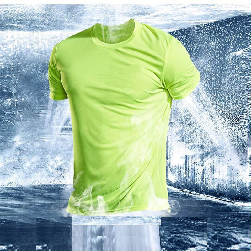 running - Men's Running T-Shirts, Quick Dry Sport T-Shirts, Fitness Gym Running Shirts, Soccer Shirts Men's Jersey Basketball Sportswear