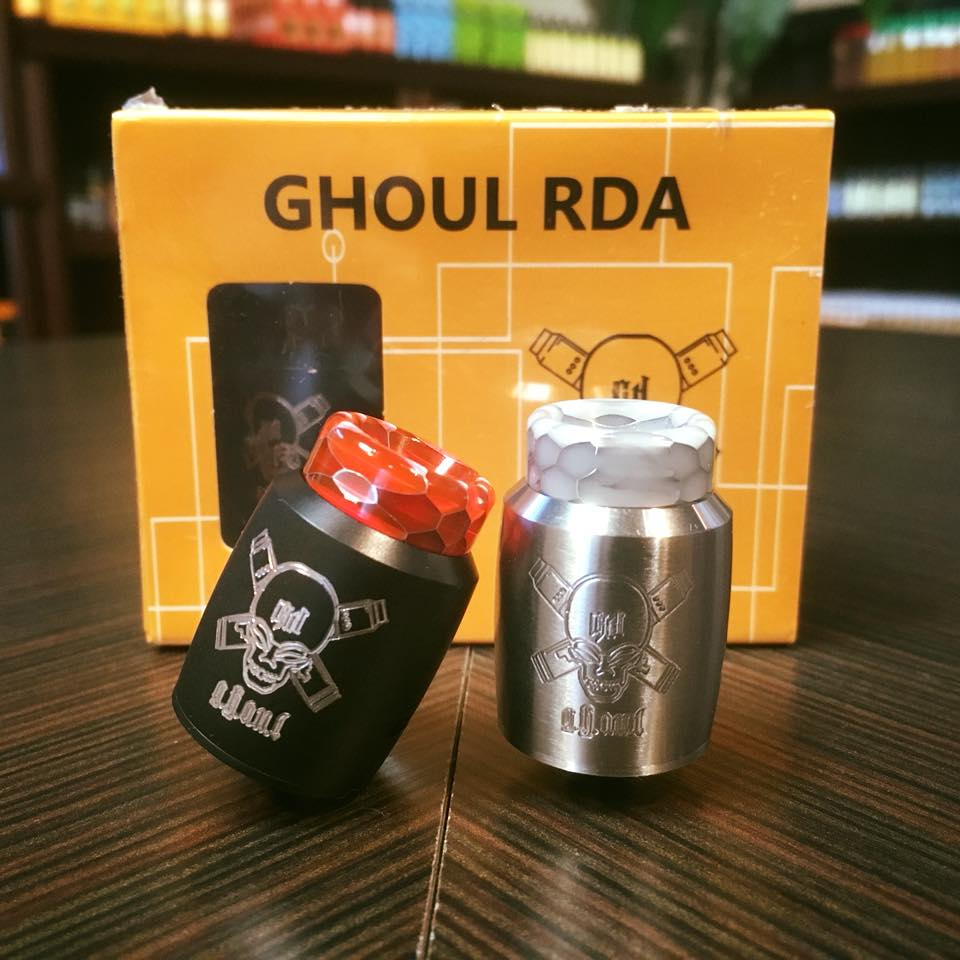 Clearence!! Ghoul BF RDA With 510 Threading Connection Electronic Cigarette Vape Tank VS Hellvape Dead Rabbit V2 BF RDA /ZEUS X