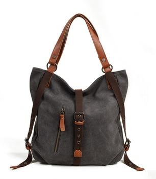 Handbags Women Canvas Bag Fashion Women Shoulder Bag Messenger Handbag High Quality Large Women Bag фото