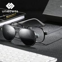 Polarized Magnet Clip on Sunglasses Men Aviation Driving Optical Sun Glasses For Men Pilot Myopia Prescription Glasses Male 2020