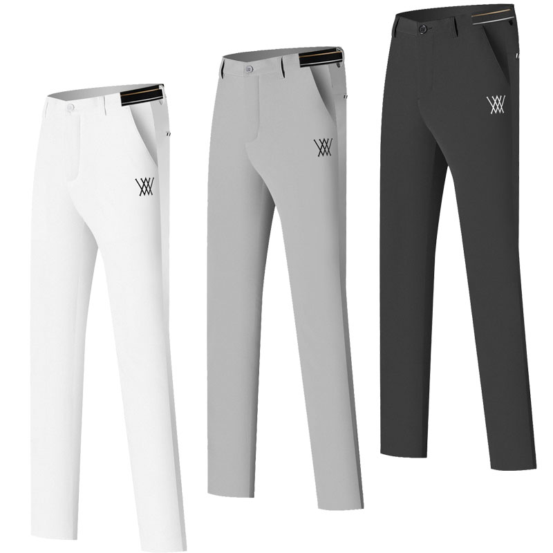 2021 New Golf Pants Men's Breathable Quick-Dry Sweat Pants Spring Summer Casual Sports Pants