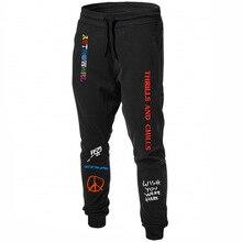 New Quality Fleece trousers Men Casual Pants TRAVIS SCOTT AS