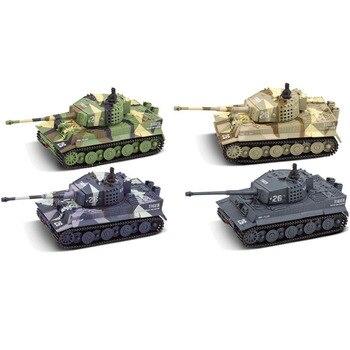 Partes niños RC coches alemán Control remoto simulación juguete Tigre tanque para niño Mini regalo