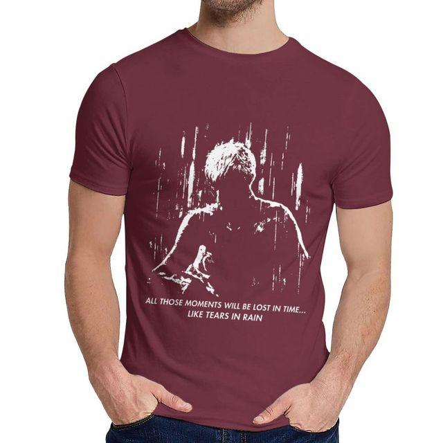 Blade Runner Tears in Rain Tshirt Fullprint Tee T-Shirt For Men