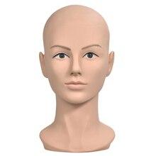 Обучение стрижки головы лысый парик стенд манекен головы манекена кукла голова для парик, делая дисплей очки дисплей парики шляпа