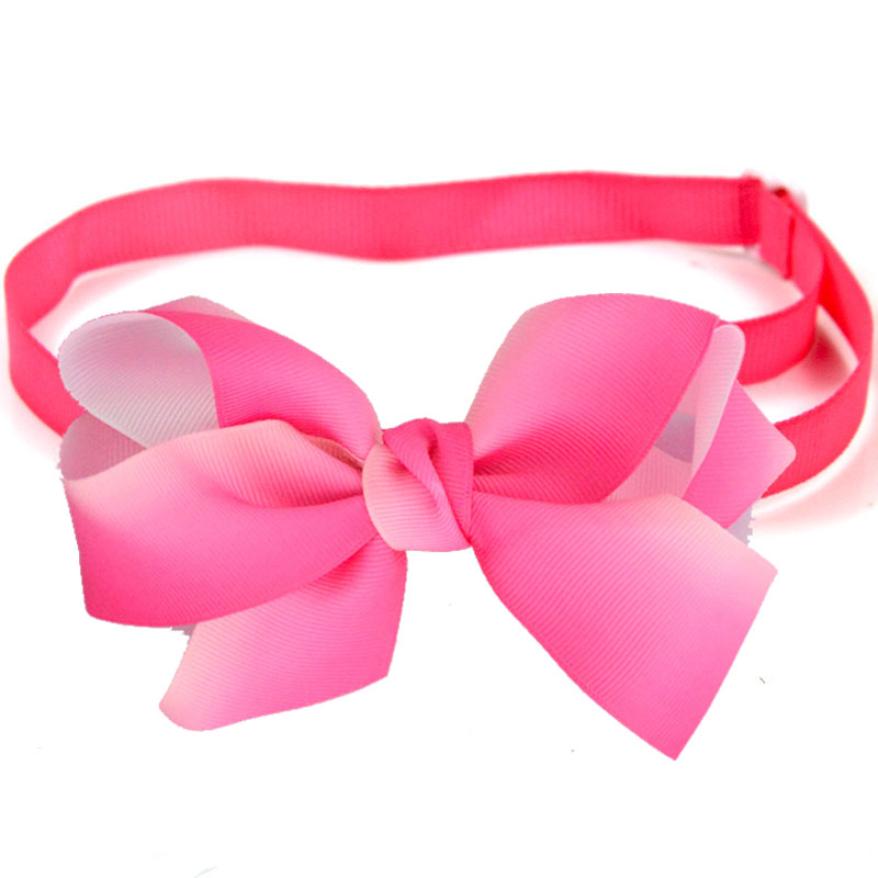 60 PCS Gradient Pet Bow Tie Spring Big Dog Accessories Big Dog Supplies Dog Bowtie Collar Cute Pet Grooming Products 15 Colors
