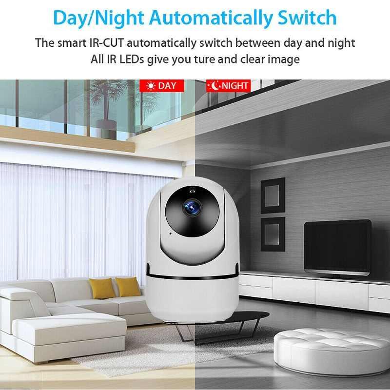جهاز مراقبة الطفل الصغير IP كاميرا تتبع السيارات HD 1080p داخلي المنزل اللاسلكية واي فاي كاميرا الأمن كاميرا مراقبة بالدوائر التليفزيونية المغلقة