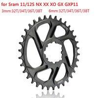 MTB bicicleta de montaña cadena anillo de Chainwheel 30T 32T 34T 36T 38T SRAM GXP XX1 X9 XO X01 gx águila NX 11/12 manivela de velocidad|Cigüeñal y cadena de rueda de bicicleta|Deportes y entretenimiento -