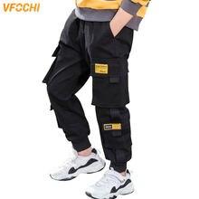 От 4 до 16 лет брюки для мальчиков vfochi 2020 однотонные карандаш