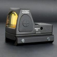 Mira holográfica de Metal para caza, visor de punto rojo RMR, colimador, reflejo Glock, compatible con Weaver carril de 20mm, Airsoft