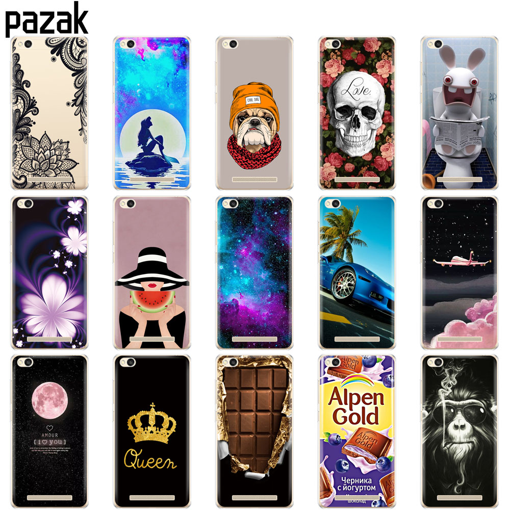 Image 2 - Silicone phone Case For Xiaomi Redmi 3 Colorful painting Transparent Silicon Phone shell For xiaomi Redmi 3 cases soft TPU-in Fitted Cases from Cellphones & Telecommunications