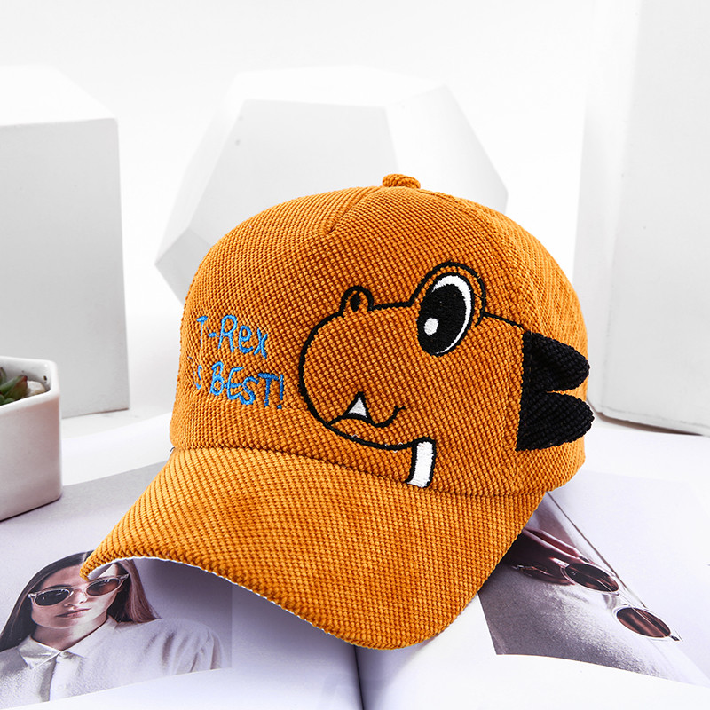 H41bb36a1d6e5423ea9c589ed1a274deeV - Spring Autumn Baby Baseball Cap Cartoon Dinosaur Baby Boys Caps Fashion Toddler Infant Hat Children Kids Baseball Cap