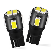 Aglint 2 Pcs T10 Hoogtepunt 5630 Smd W5W 194 168 501 Led Auto Lamp Super Wit 12V Voor Interieur dome Reading Kaart Side Marker Lamp(China)