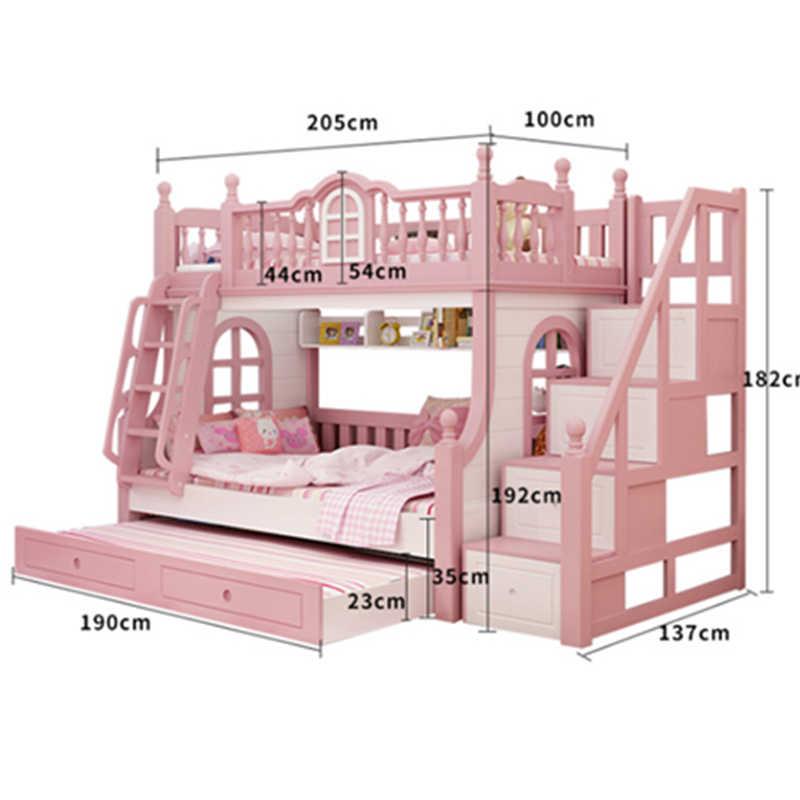 Scale Per Letti A Castello.Foshan Moderna In Legno Di Quercia Per Bambini 3 Foors Letto Letti