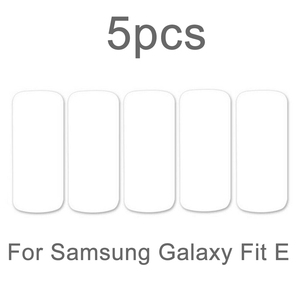 Image 5 - 5 Pcs רך Ultra דק סרט משמר עבור Samsung Galaxy Fit & Fit E ברור מסך מגן עבור Galaxy Fit E נגד שריטות TPU סרט