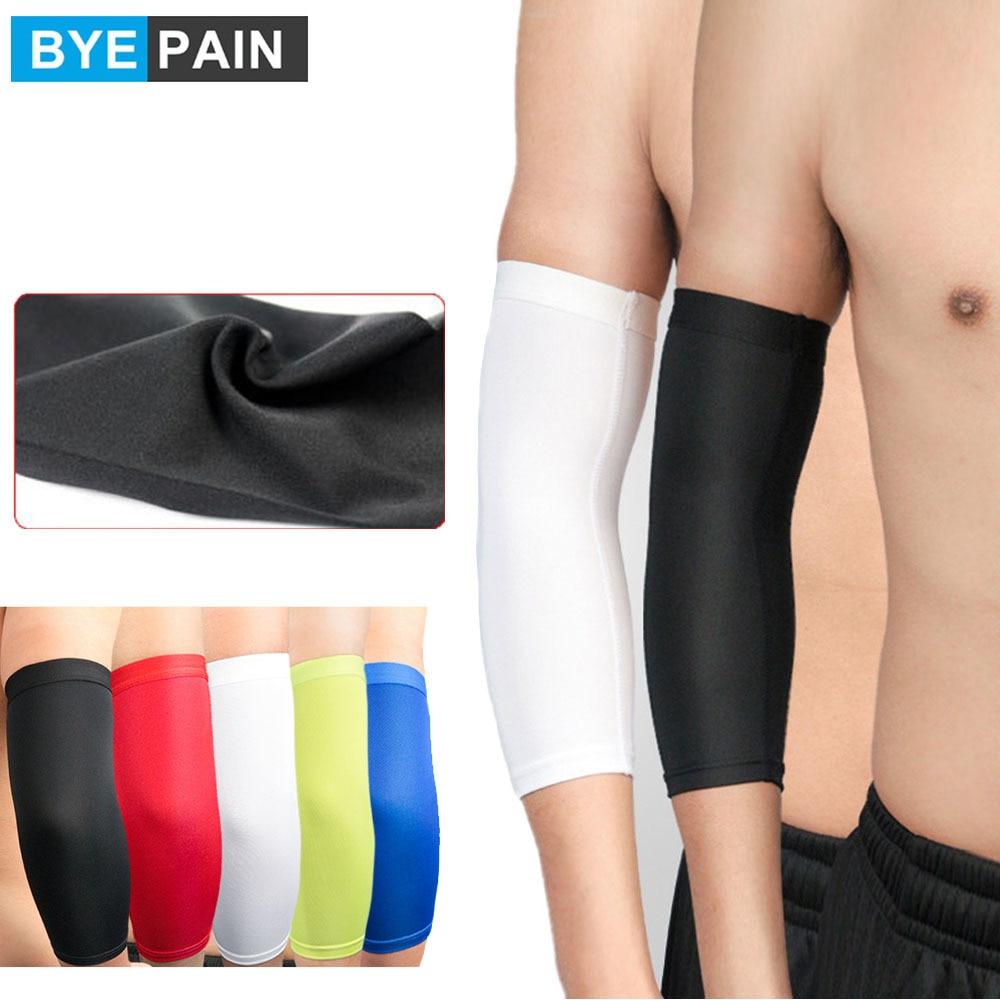 Дышащие компрессионные рукава унисекс, 1 шт., удобные для занятий спортом на открытом воздухе, похожие на рукоятки с противоскользящим дизай...