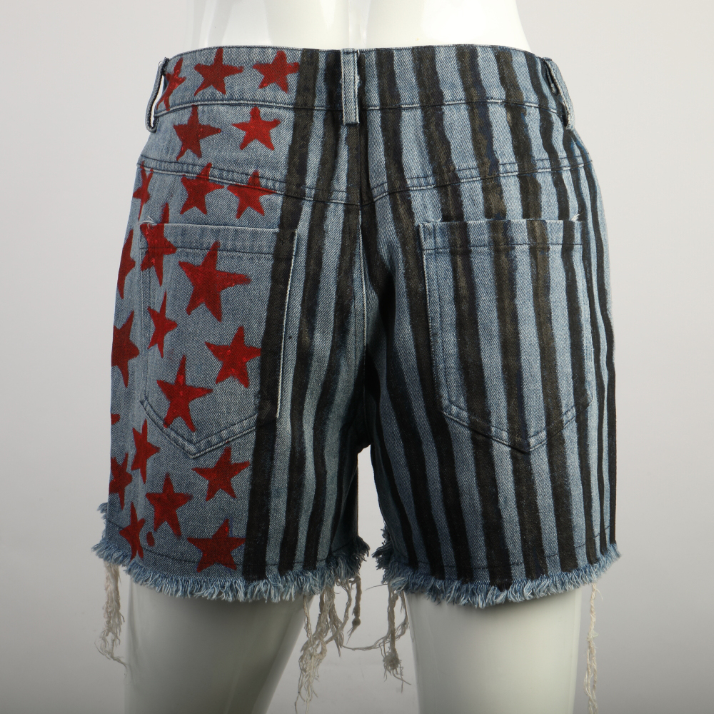 Cosplay Birds of Prey Harley Quinn Vest T-Shirts Short Pants Full Set Costumes