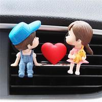 Lovely Couple Girl Boy Car  2