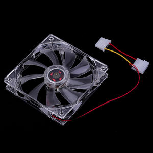 Fans Computer-Fan-Sleeve Pc-Case Cooling 120MM Bearing-Technology for Transparent Blue