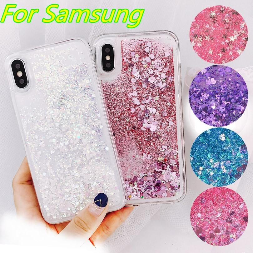 Liquid Soft Silicone Phone Case for Samsung Galaxy S8 S9 S10 Plus S7 Edge J4 J6 J8 A6 J3 J5 J7 2016 A3 A5 A7 2017 A7 A8 A9 2018