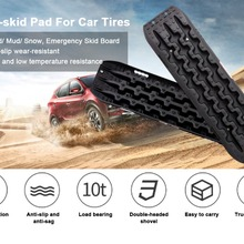 Snow-Chains Sand Off-Board Traction 10T Car Assistance Self-Driving Anti-Skiding-Plate