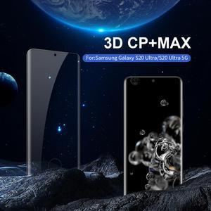 Image 1 - Nillkin Gehärtetem Glas für Samsung Galaxy S20 Plus Ultra A51 A71 3D CP + Max Screen Protector sfor Samsung S20 plus 5G Glas