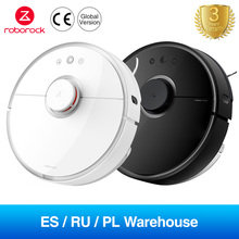 Global Version EU Plug Roborock S50 S55 Robot Vacuum Cleaner 2 For Home APP Control Sweeping And Wet Mopping Smart Planned