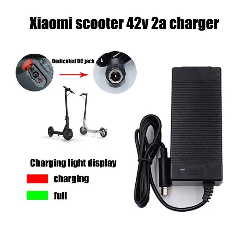 Зарядное устройство для электрического скутера Xiaomi Mijia M365 Ninebot Es1 Es2, 42 в, 2 А|Зарядные устройства|   | АлиЭкспресс