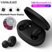 A6S 5,0 TWS Bluetooth Headsets Für Xiaomi Airdots Drahtlose Ohrhörer Kopfhörer Noise Cancelling Mic für Redmi iPhone Huawei Samsung