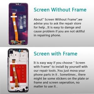 Image 3 - 10 Touch Huawei P20 Lite Display LCD Touch Screen Telaio di Montaggio Huawei P20 Dizigiter Lite ANE LX1 ANE LX3 Nova 3e LCD