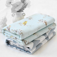 100% Organic Cotton Muslin Baby Swaddle Blanket Summer Blanket Bed Sheet  Bath Towel Baby Receiving Blanket baby blanket cotton collection premium production company ecotex russia