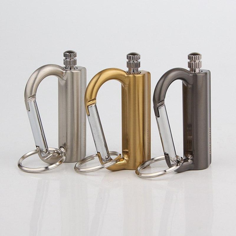 Metal Carabiner Creative Million Matches Windproof Waterproof Universal Match Portable Keychain