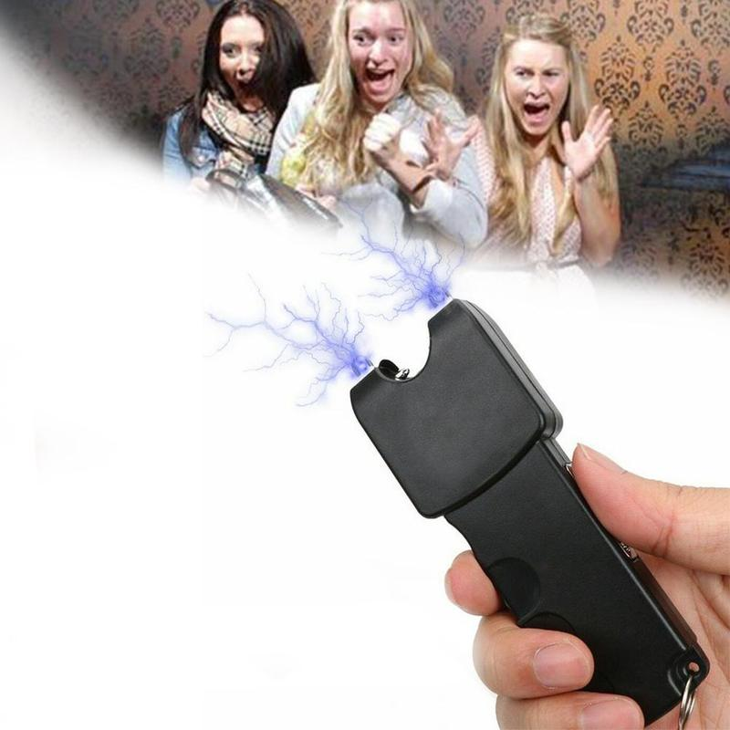 April Fool's Day Electric Shock Stick People Toys Scary Electric Toy Flashlight Toys