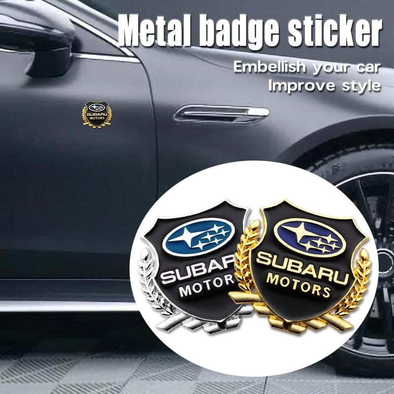 Металлическая 3D наклейка на боковую дверь автомобиля эмблема значок украшение
