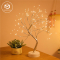 Светодиодный светильник на рождественскую елку, цветной ночсветильник с Mini USB, медная проволока, гирлянда, лампа для украшения дома, детской...