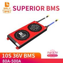Daly Bms 10S 36V 80a 100a 200a 500a Lipo Li Ion Balans Bescherming Boord Pcm Bms Pcb Batterij 3.7V 36V Batterij Management Systerm