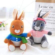 ZGY Rabbit Plush Toys 25/40/50cm Peter Stuffed Soft cartoon animal bing Peter peluche Kawaii Rabbit For Children Birthday Gift peter rabbit nurser rhyme time