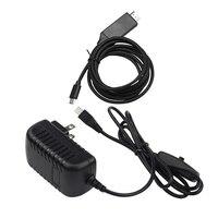 1 pçs eua plug 5v3a 5 v/3a raspberry pi 3 modelo b + mais adaptador de alimentação ligar/desligar botão power & 1 pcs tipo c para 4 k hdmi tv cabo Adaptadores AC/DC     -