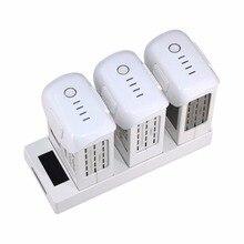 Chargeur intelligent de batterie parallèle de Hub de charge 3 en 1 pour DJI Phantom 4 PRO V2.0 Station de charge avancée de batterie de vol de Drone