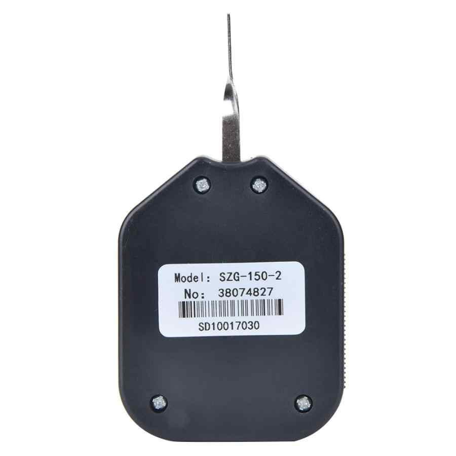 Plastik Tipe Penunjuk Double Jarum Tension Meter Analog Dial Gauge Mengukur Kekuatan Alat Elektronik Switch