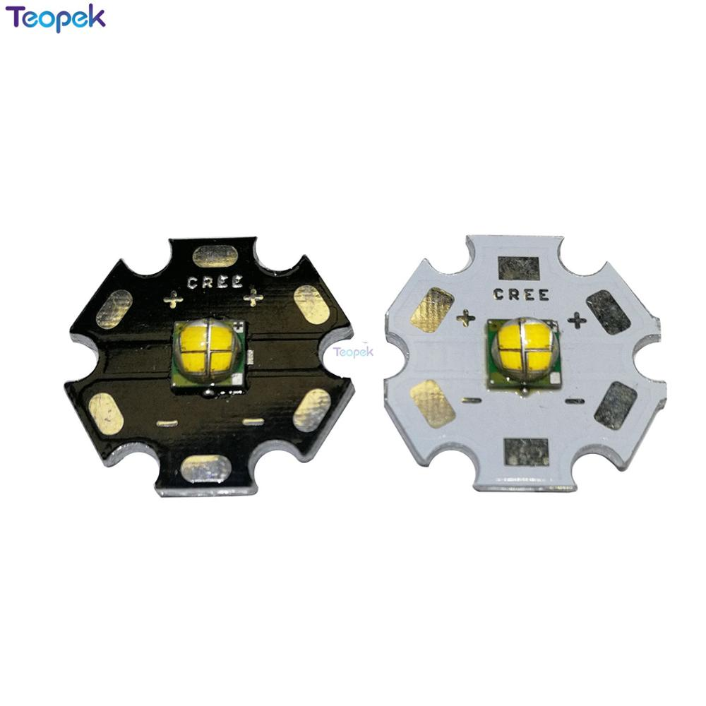 CREE XM-L EasyWhite 4 Chips Led 12w XML-EZW 6V/12V U2 Warm White LED With 16MM/20mm Heatsink For Spot Light/Bulb/Lamp