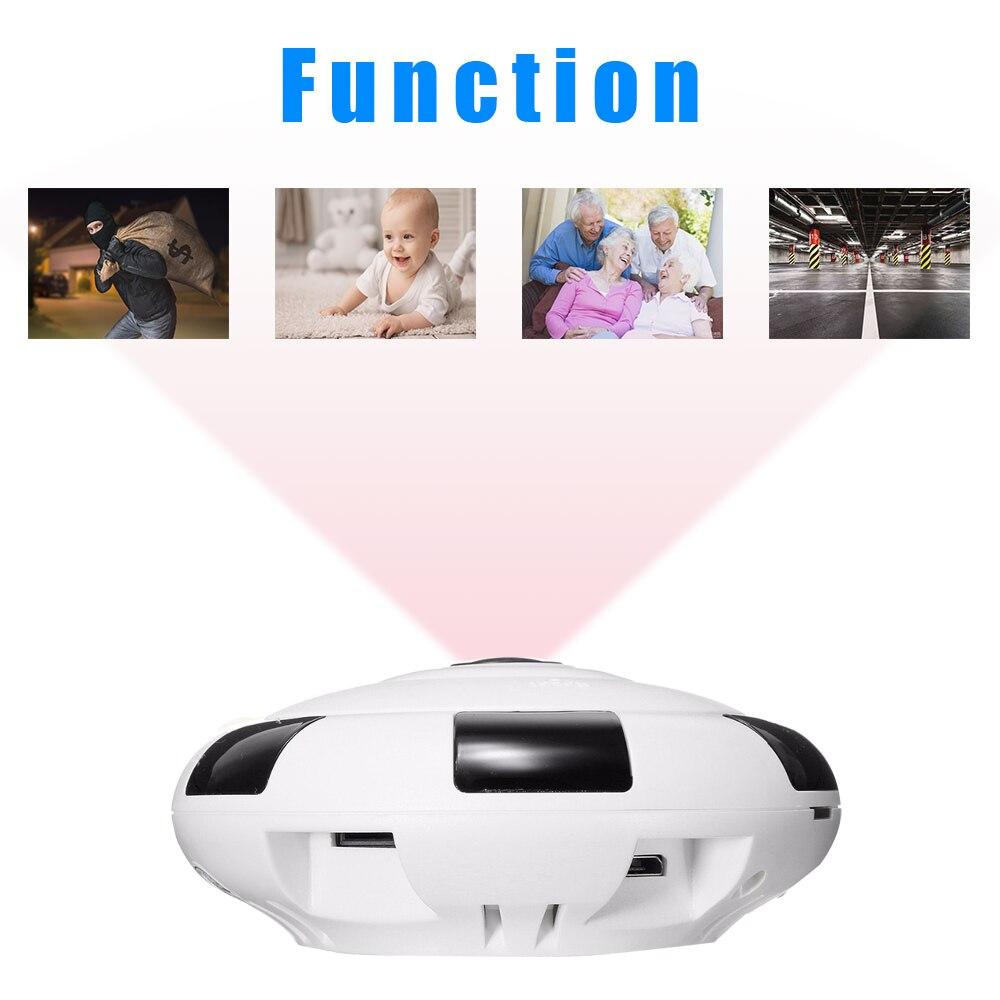 Kruiqi-Mini caméra IP WIFI HD 3 mp | Sécurité sans fil, pour la maison, Vision nocturne, détection de mouvement, Mini caméscope, boucle, enregistreur vidéo - 3