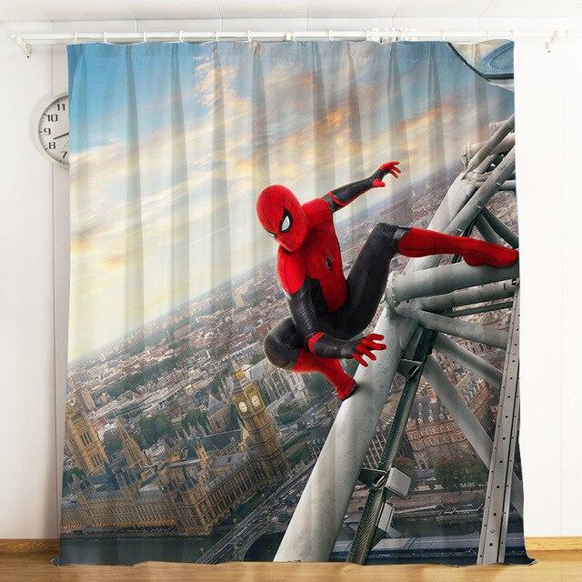 Marvel Spider-Man Window Valance Boy/'s